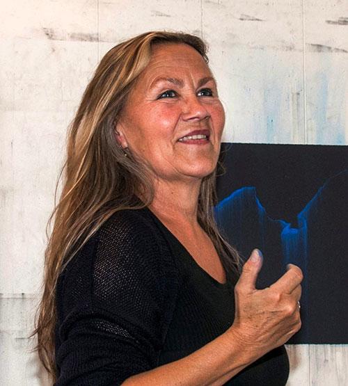 Portrett Kristin Skrivervik. Foto: Ingrid Eide